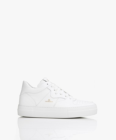 Copenhagen Mid-top Leren Sneakers - Wit