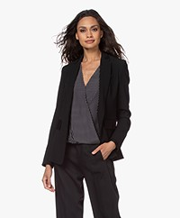 Rag & Bone Windsor Crepe Blazer - Black