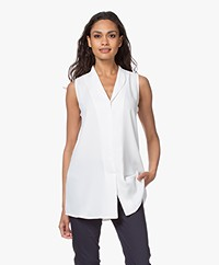 Woman By Earn Lot Sleeveless Blouse - Off-white