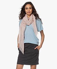 Closed Virgin Wool Scarf - Peony