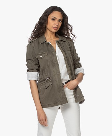 Rails Miller Cotton Utility Jacket - Military