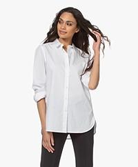 By Malene Birger Calani Cotton Shirt - Pure White