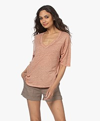 Vanessa Bruno Neil Linen T-shirt - Chair