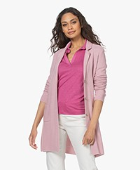 Belluna Suite Moss Button-through Cardigan - Rose