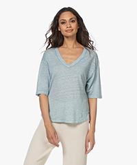 Vanessa Bruno Neil Linnen T-shirt - Menthe