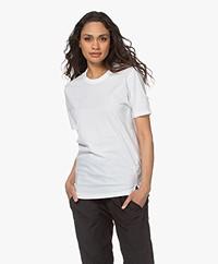 bassike Heritage Bio Katoenen T-shirt - Wit