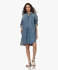 Closed Raiden Denim Tunic Dress - Mid Blue
