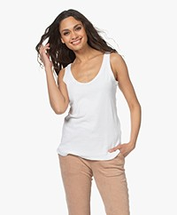 Majestic Filatures Terry Jersey Tank Top - White