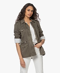 Rails Miller Cotton Utility Jacket - Military