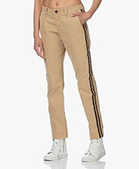 Zadig & Voltaire Pomelo Cotton Chino Pants - Mackintosh