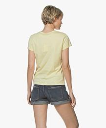 Filippa K Flared Cap Sleeve T-shirt - Wax