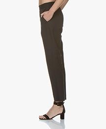 Filippa K Fiona Summer Pantalon - Zwart
