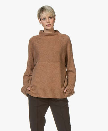 By Malene Birger Brianne Wool Blend Sweater - Vintage Camel
