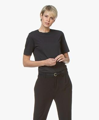 Filippa K Organic Cotton T-shirt - Navy