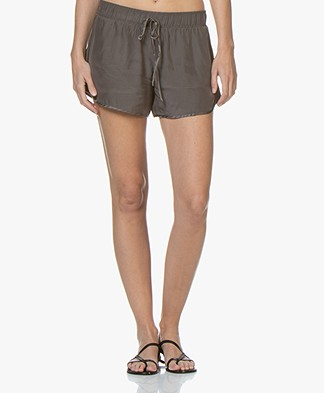James Perse Zijde Charmeuse Short - Tire