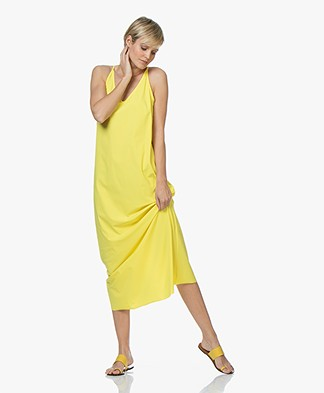 JapanTKY Tara Travel Jersey Maxi Dress - Limone