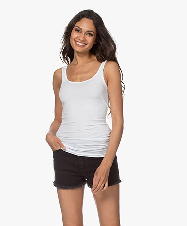 James Perse The Daily Tank - White