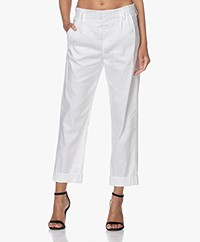 Drykorn Dispatch Linen Blend Pants - White