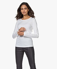Filippa K Hannah Cotton Long Sleeve - White