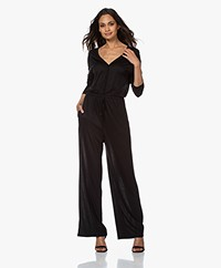 by-bar Kiki Lyocell Jersey Jumpsuit - Zwart