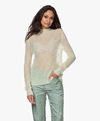 Filippa K Leila Mohair Blend Sweater - Faded Acid