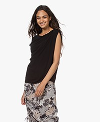 Filippa K Zoey Top - Black