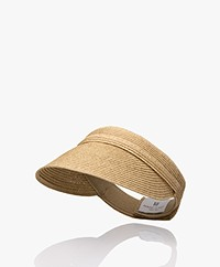 Resort Finest Paper Straw Sun Visor - Warm Sand