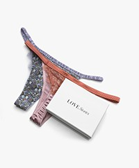 Love Stories Roomservice 2-pack Thongs - Multi-color