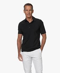 OneFold Travel Jersey Heren Poloshirt - Zwart