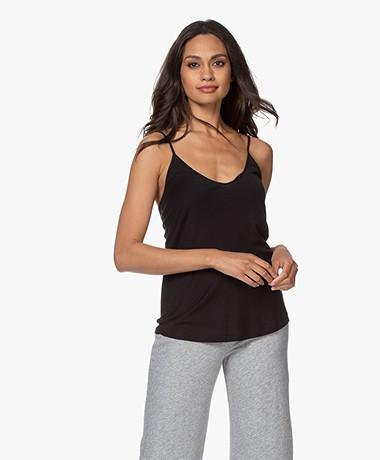 Skin Pima Katoenen Jersey Camisole - Zwart