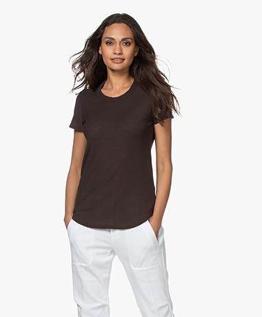 James Perse Supima Slub Jersey T-shirt - Kona