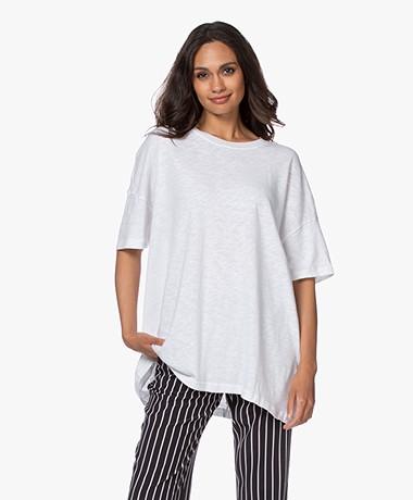 American Vintage Sonoma Oversized T-shirt - Wit