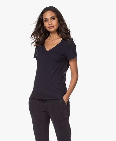 American Vintage Sonoma Slub Jersey T-shirt - Cosmos