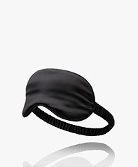 slip™ Mulberry Silk Sleep Mask - Black