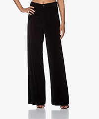 Vanessa Bruno Polo Corduroy Pants - Black
