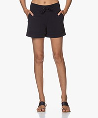 JapanTKY Kogi Travel Jersey Utility Shorts - Blue Black