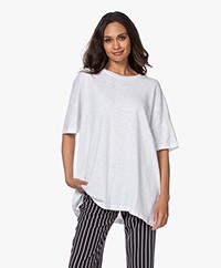 American Vintage Sonoma Oversized T-shirt - Wit