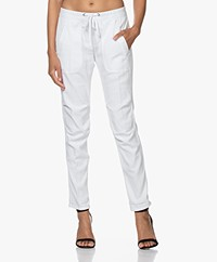 James Perse Soft Drape Utility Pants - White