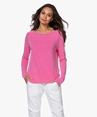 American Vintage Sonoma Slub Sweatshirt - Vintage Roze
