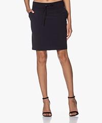 JapanTKY Ryon Travel Jersey Utility Skirt - Black Blue