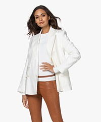 Closed Esra Double Breasted Blazer - Ivory
