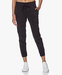 James Perse Mixed Media Pant - French Navy