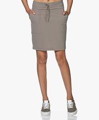 JapanTKY Ryon Travel Jersey Utility Skirt - Olive