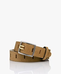 Rag & Bone Sidekick Suède Riem - Golden Brown