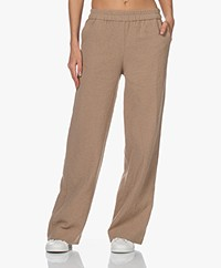 Shades Antwerp Jackie Cotton Pull-on Pants - Sahara Camel