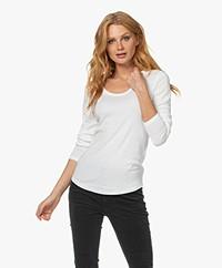 Closed Jersey Longsleeve T-shirt - Ivory