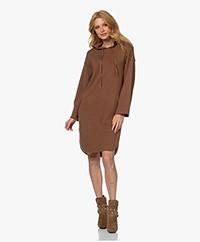 Josephine & Co Tracy Knitted Hooded Dress - Khaki