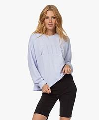 Rails Signature French Terry Logo Sweatshirt - Lavender