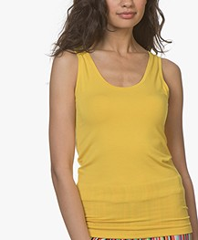 Majestic Filatures Alice Soft Touch Jersey Tanktop - Topaze