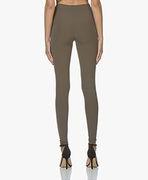 JapanTKY Haya Slim-fit Jersey Legging - Kaki